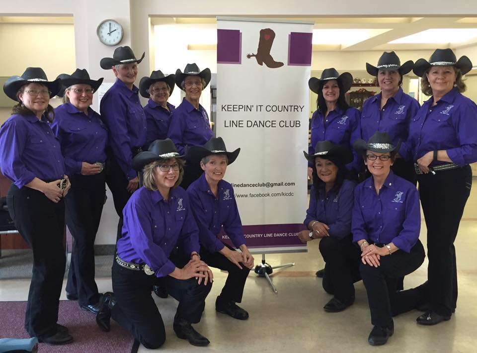 Keepin It Country Line Dance Club Banner